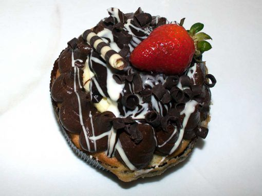Boston Cream Pie Individual Pastry - dessertsbygerard.com