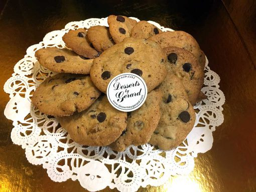 Chocolate Chip Walnut Cookies - dessertsbygerard.com