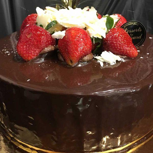 Chocolate Mousse Cake - dessertsbygerard.com