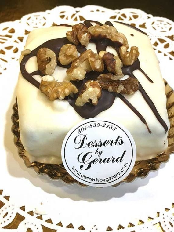 Cream Cheese Brownie - dessertsbygerard.com