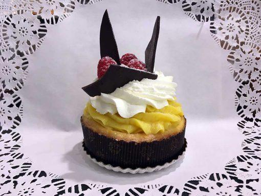 Lemon Custard Tart- dessertsbygerard.com
