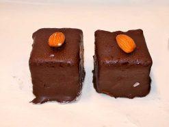 Milk Chocolate Almond Butter Cream Cake - dessertsbygerard.com