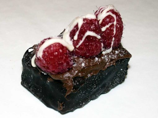 Mini Chocolate Rasberry Short Cake - dessertsbygerard.com