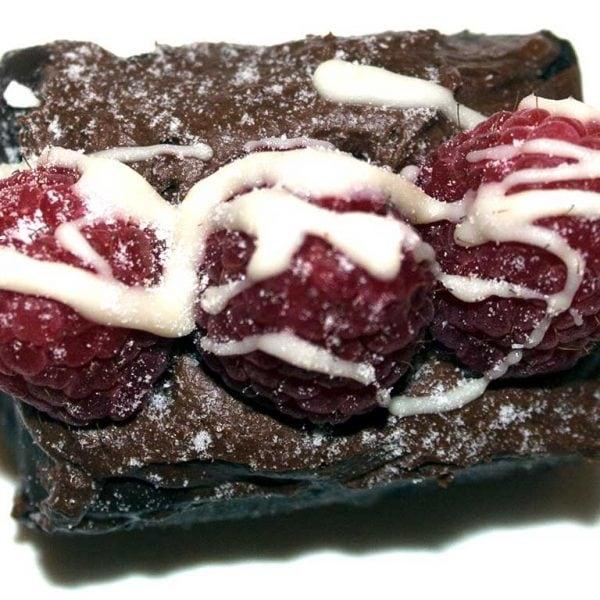 Mini Chocolate Rasberry Short Cake - dessertsbygerard.com