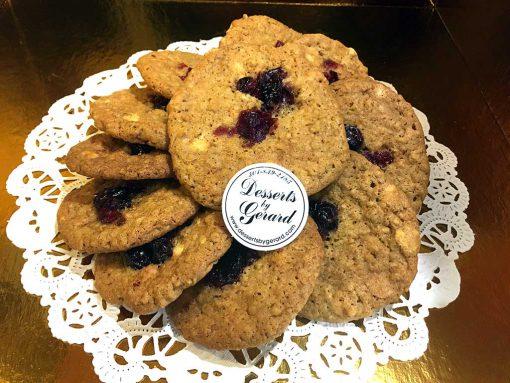 Oatmeal Cranberry Cookies - dessertsbygerard.com