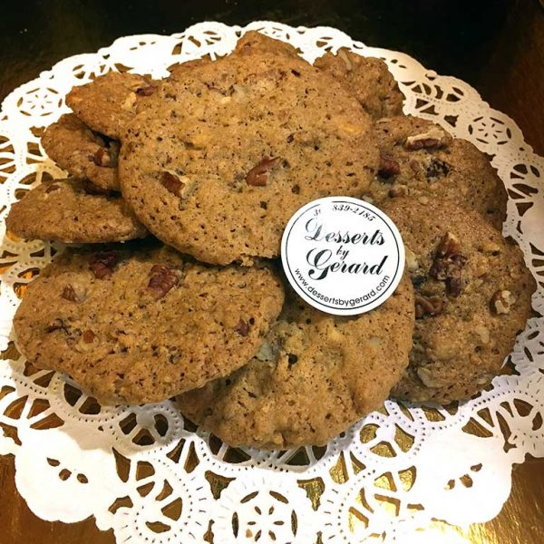 Oatmeal Pecan Cookies - dessertsbygerard.com