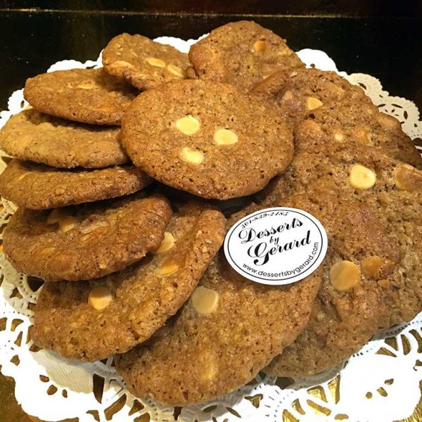 Oatmeal White Chocolate Cookies - dessertsbygerard.com