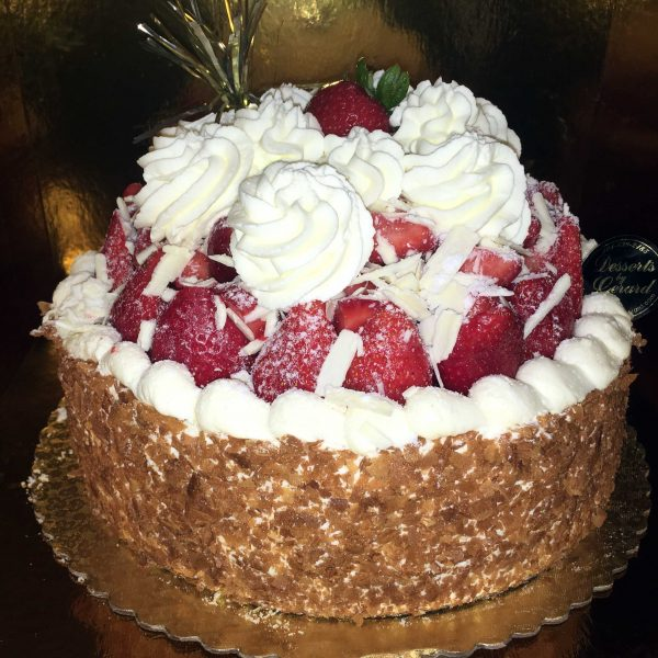 Strawberry Cheese Cake - dessertsbygerard.com