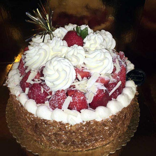 Strawberry Cheese Cake - dessertsbygerard.com