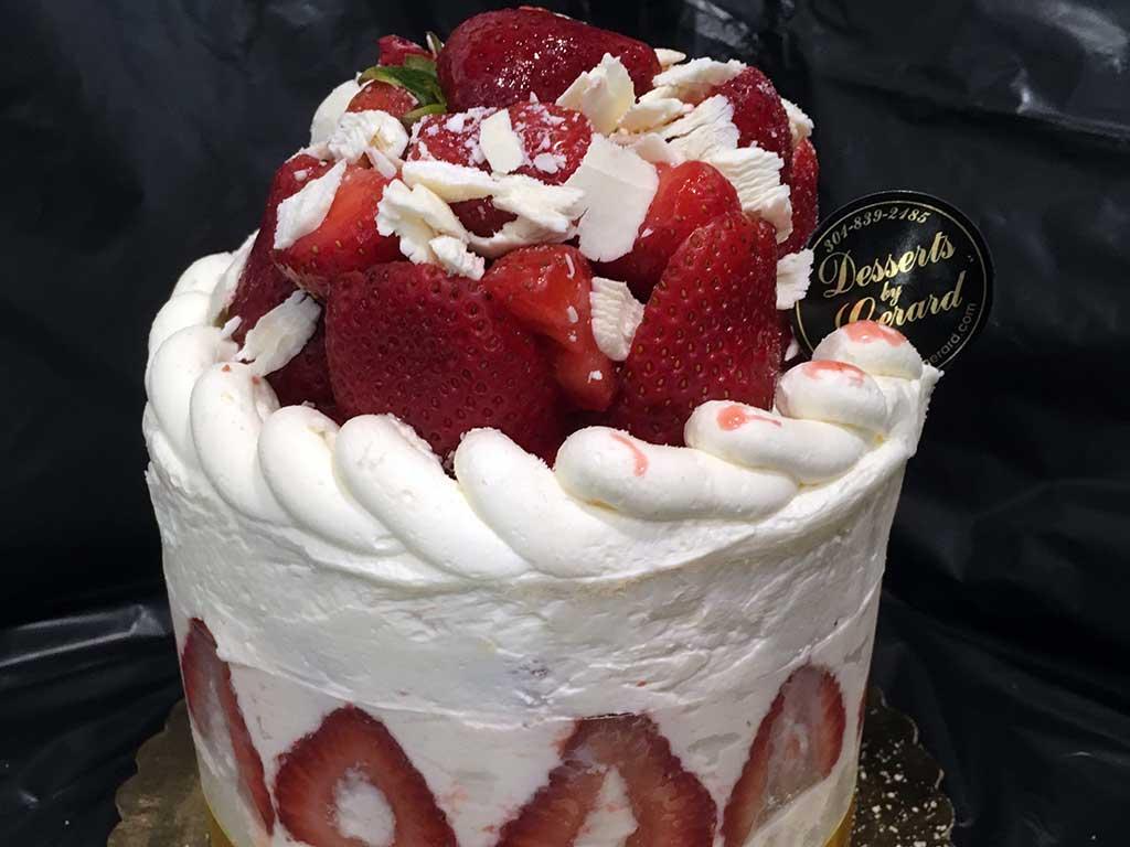 Strawberry Cake Recipe By Sanjeev Kapoor
