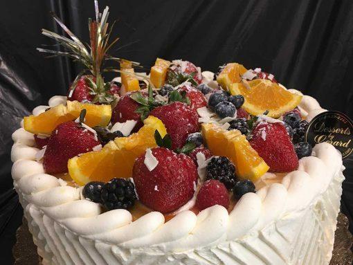 Vanilla Butter Cream Cake- dessertsbygerard.com