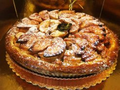 Apple Custard Spiral Tart - dessertsbygerard.com