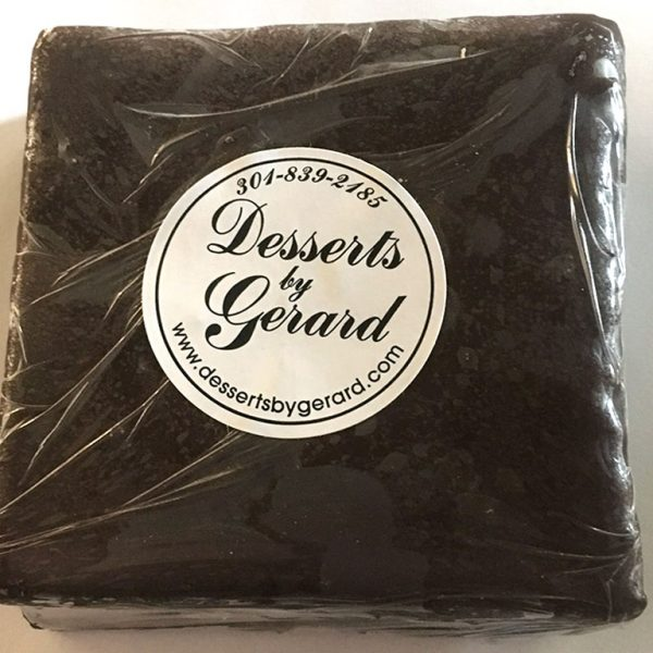 Brownie witout Nuts - dessertsbygerard.com