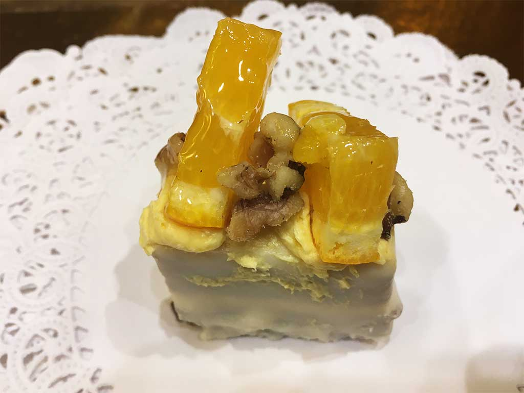 Carrot Cake with Grand Marnier Buttercream - dessertsbygerard.com