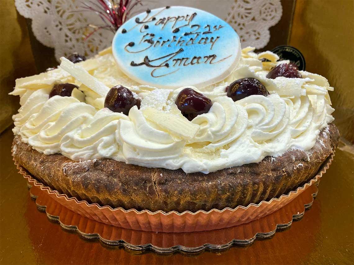 Cherry White Chocolate Mousse - dessertsbygerard.com