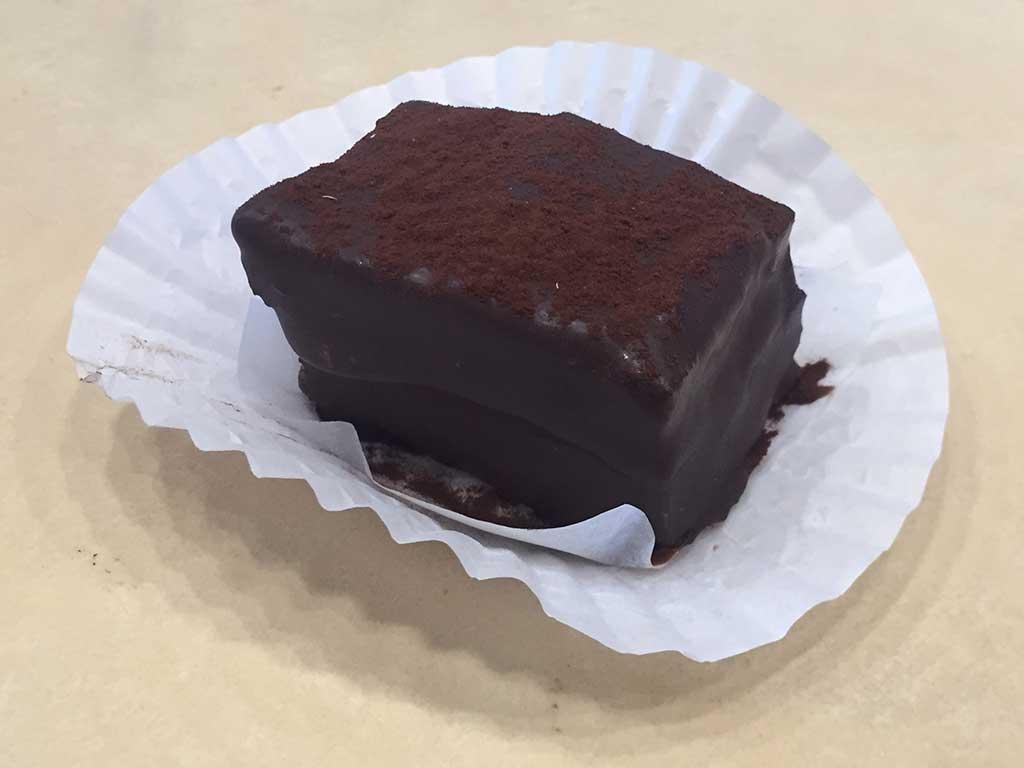 Chocolate Raspberry Napolon Mini Pastry - dessertsbygerard.com