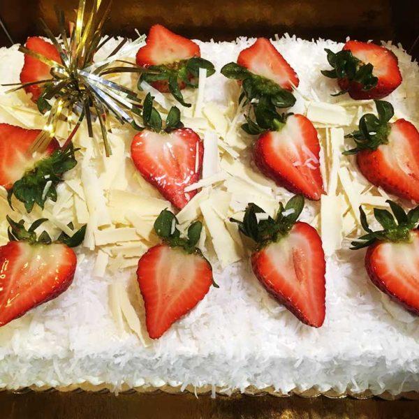 Coconut Buttercream Cake - dessertsbygerard.com