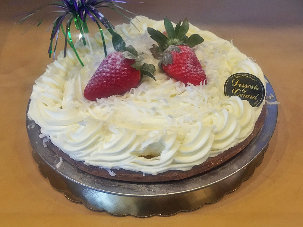 Coconut Cream Pie - dessertsbygerard.com