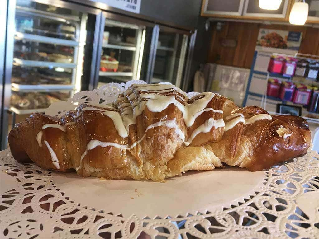 Cream Cheese Croissant - dessertsbygerard.com