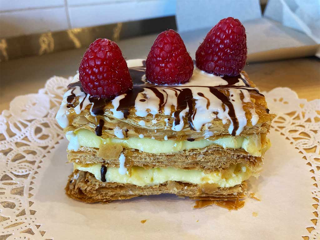 Custard Napoleon - dessertsbygerard.com
