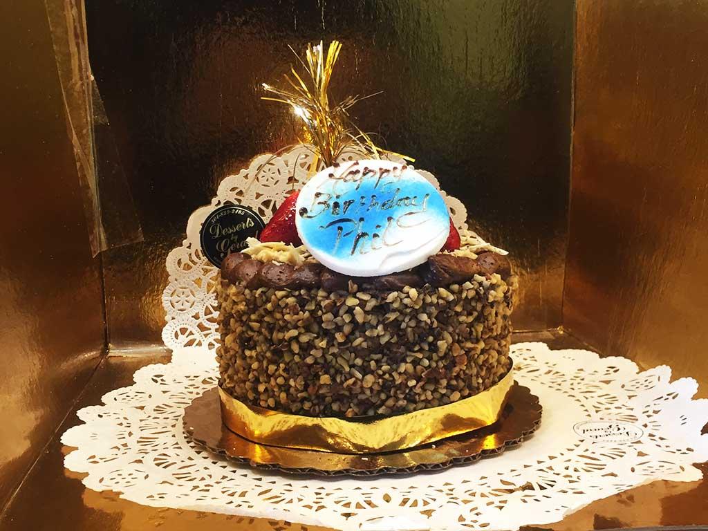 Greman Chocolate Cheesecake - dessertsbygerard.com