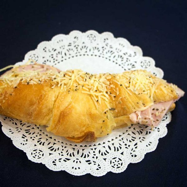 Ham and Parmesan Cheese Croissant - dessertsbygerard.com