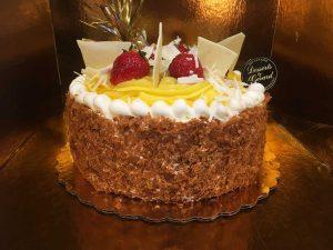 Lemon Cheese Cake - dessertsbygerard.com