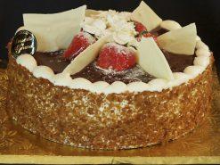 Glazed Cheese Cake - dessertsbygerard.com