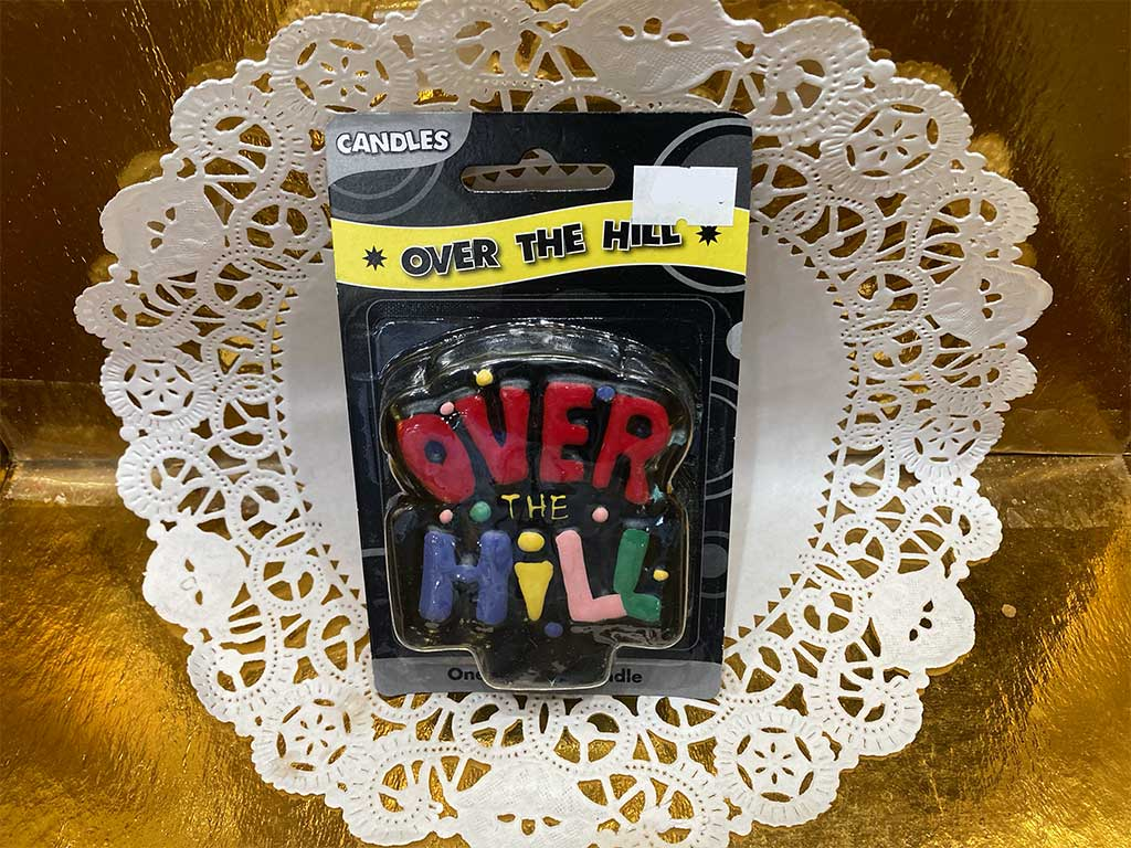 Over the Hill Candles - dessertsbygerard.com