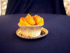 Peach Cobbler Pastry - Cinnamon Pecan Danish - dessertsbygerard.com