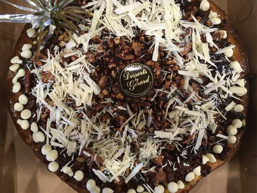 Pecan Pie with White Chocolate - dessertsbygerard.com