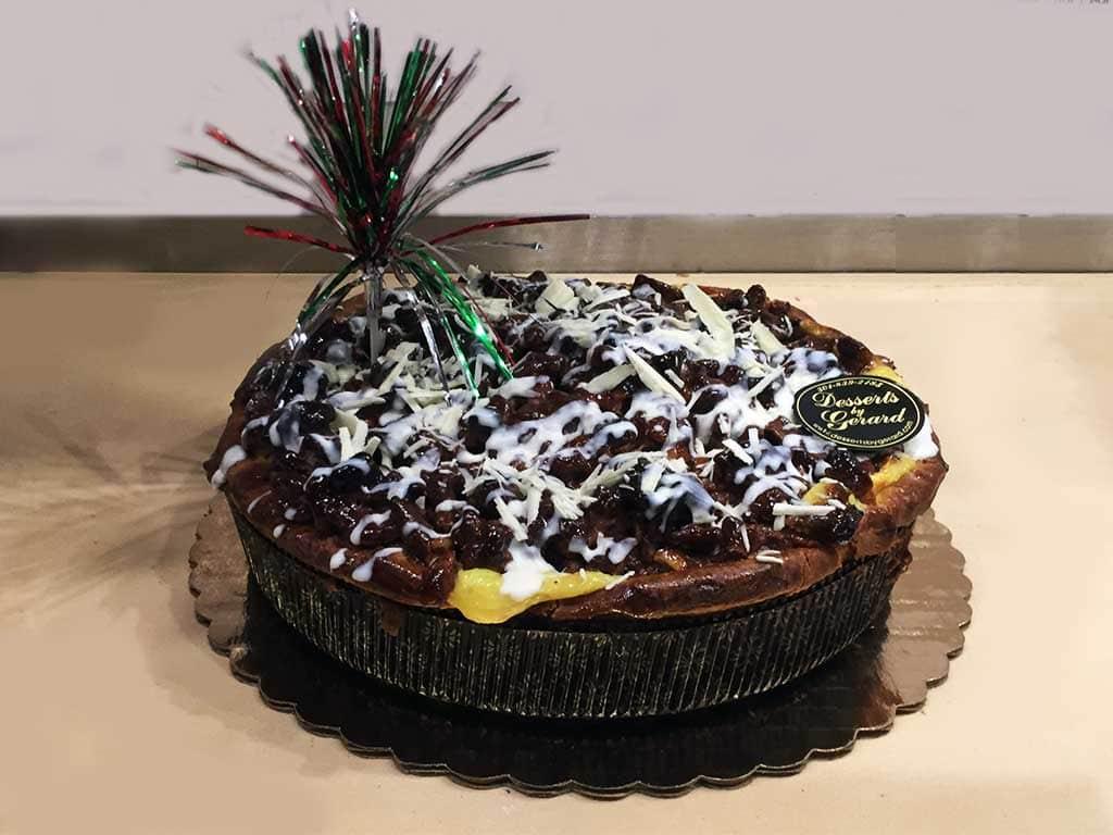 Pecan Tart Pie - dessertsbygerard.com