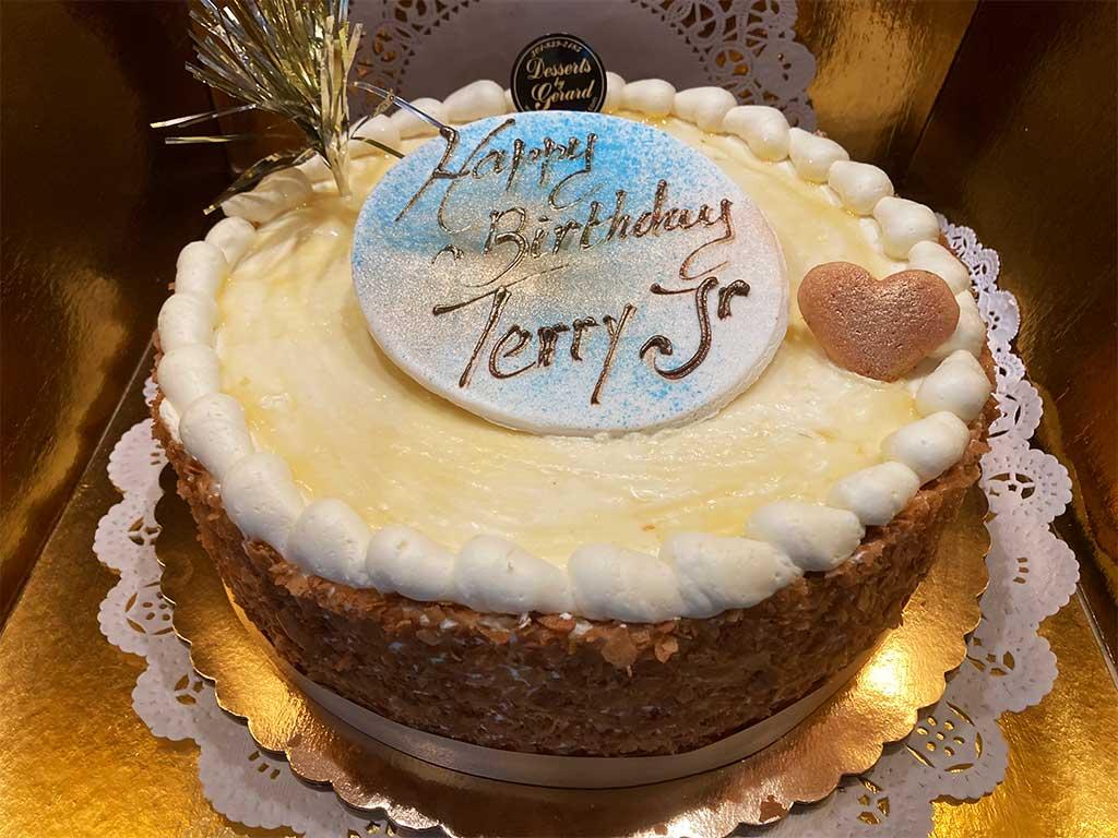 Plain Cheesecake - dessertsbygerard.com