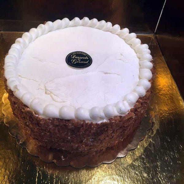 Plain Cheese Cake - dessertsbygerard.com