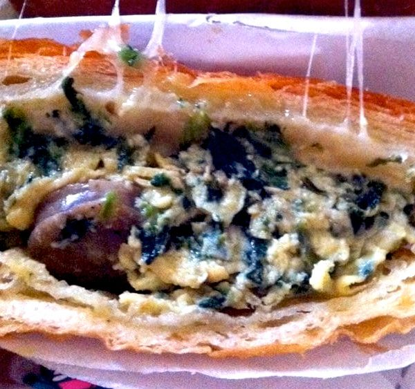 Sausage Spinach Eggs and Cheese - dessertsbygerard.com