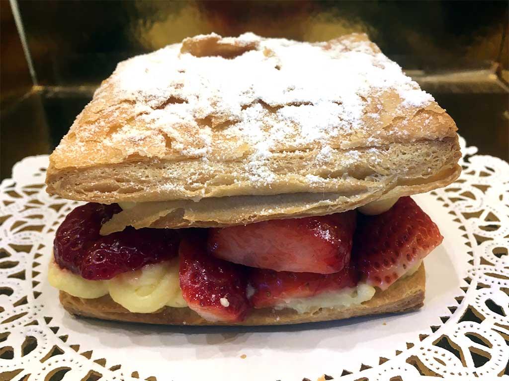 Strawberry Custard Croissant - dessertsbygerard.com