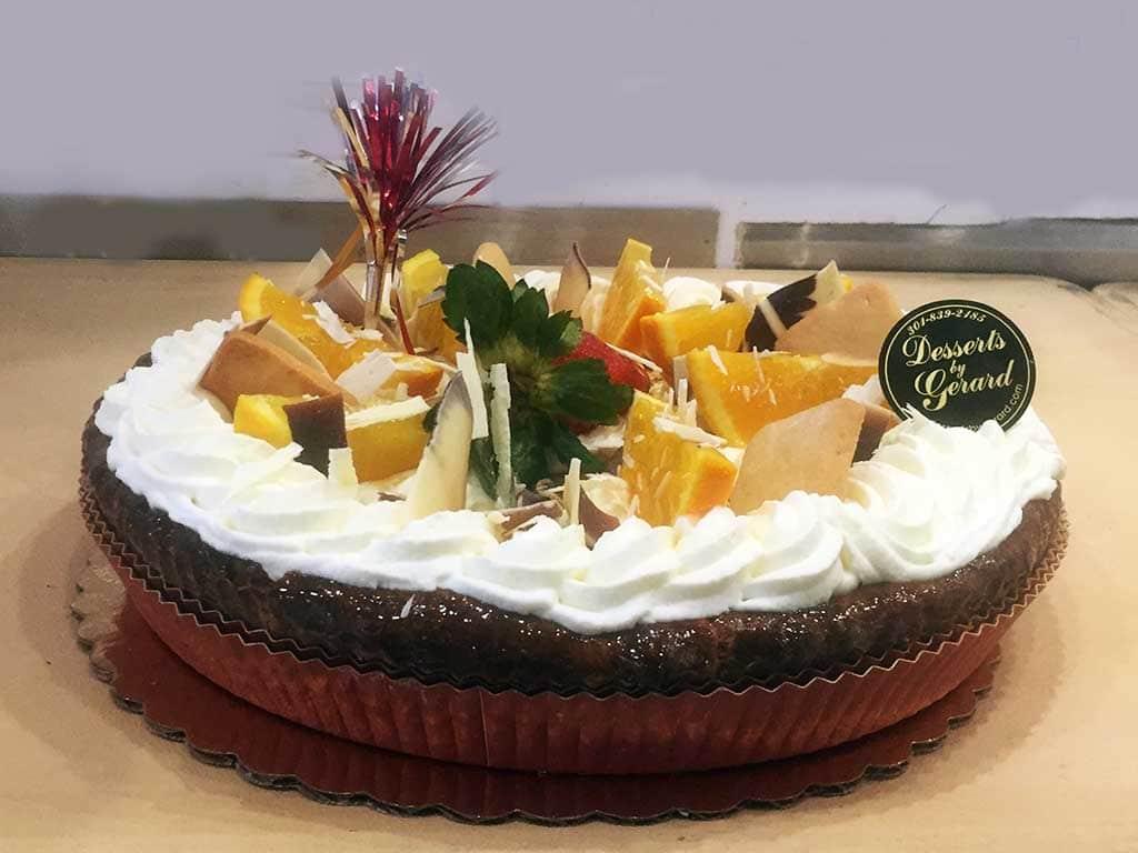 Sweet Potato Custard Pie - dessertsbygerard.com