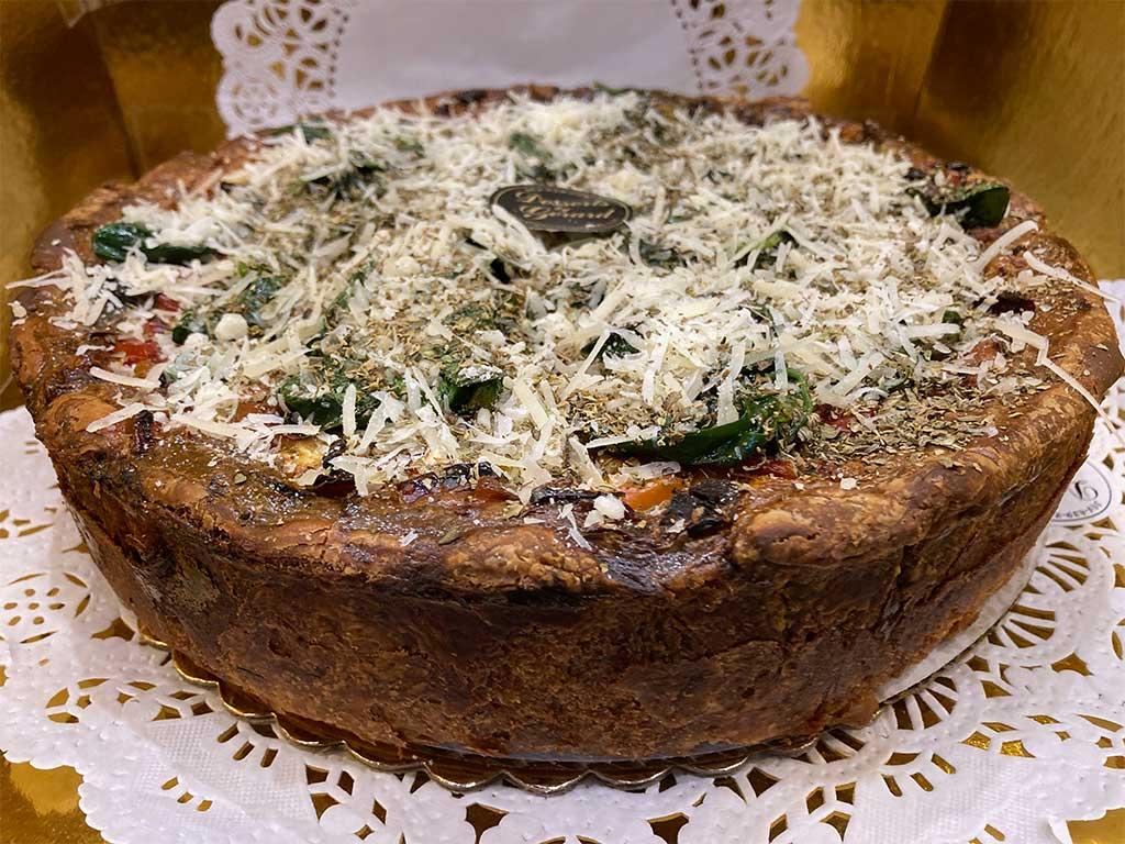 Vegetarian Quiche - dessertsbygerard.com