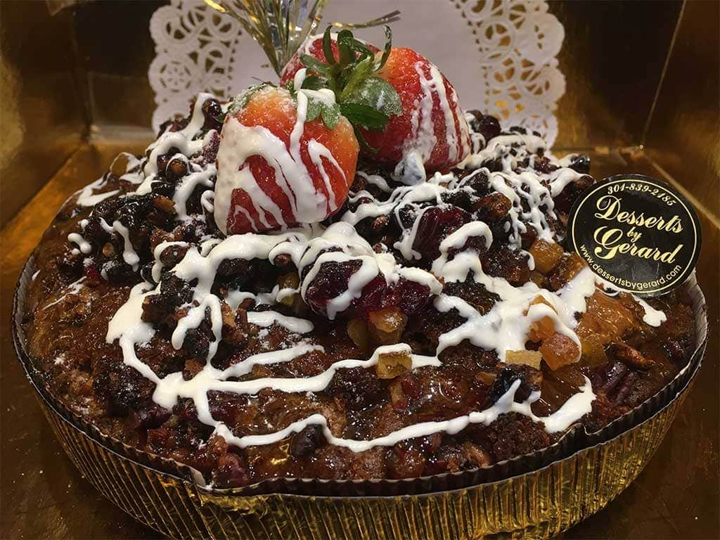Sweet Potato Pear Cranberry Large Breakfast Pastry - dessertsbygerard.com