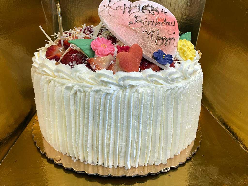 Strawberry Torte - Double Layer - dessertsbygerard.com