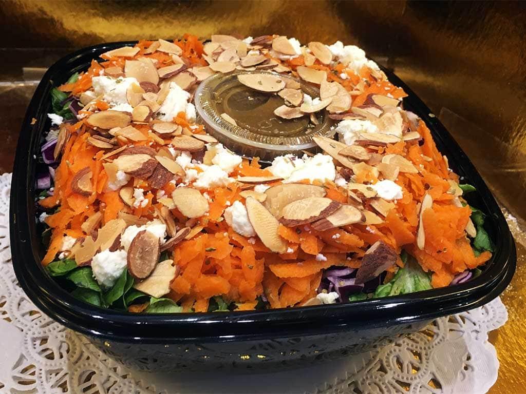 Romaine Feta Cheese Salad - dessertsbygerard.com