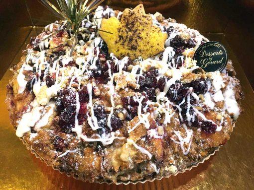 Apple Cranberry Walnut - dessertsbygerard.com