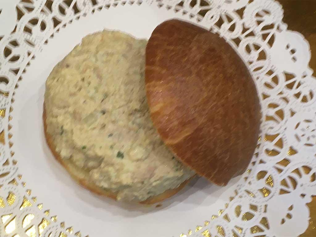 Small Chicken or Tuna Sandwich on Brioche - dessertsbygerard.com