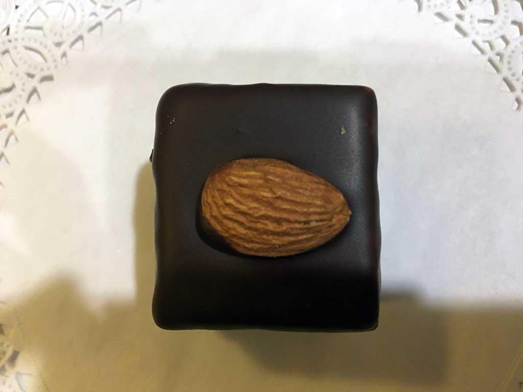 Chocolate Cake Almond Buttercream Mini Pastry - dessertsbygerard.com