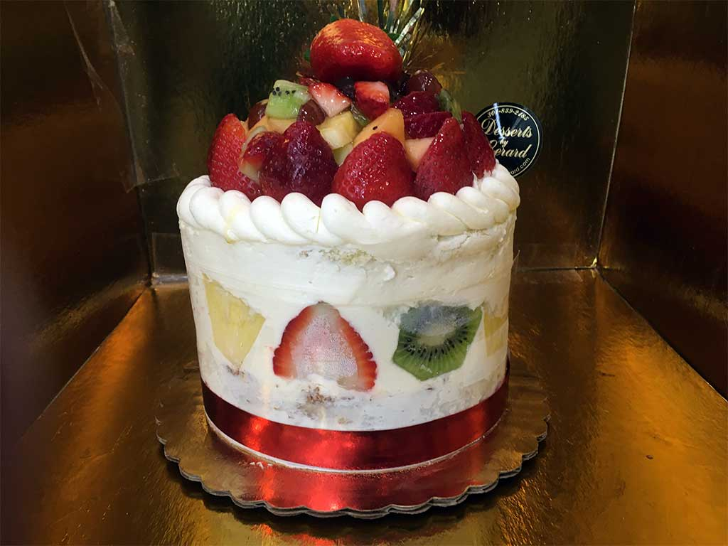 Fruit Shortcake Double Layer - dessertsbygerard.com