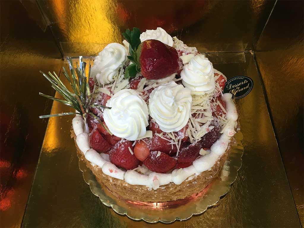 Strawberry Cheesecake - dessertsbygerard.com