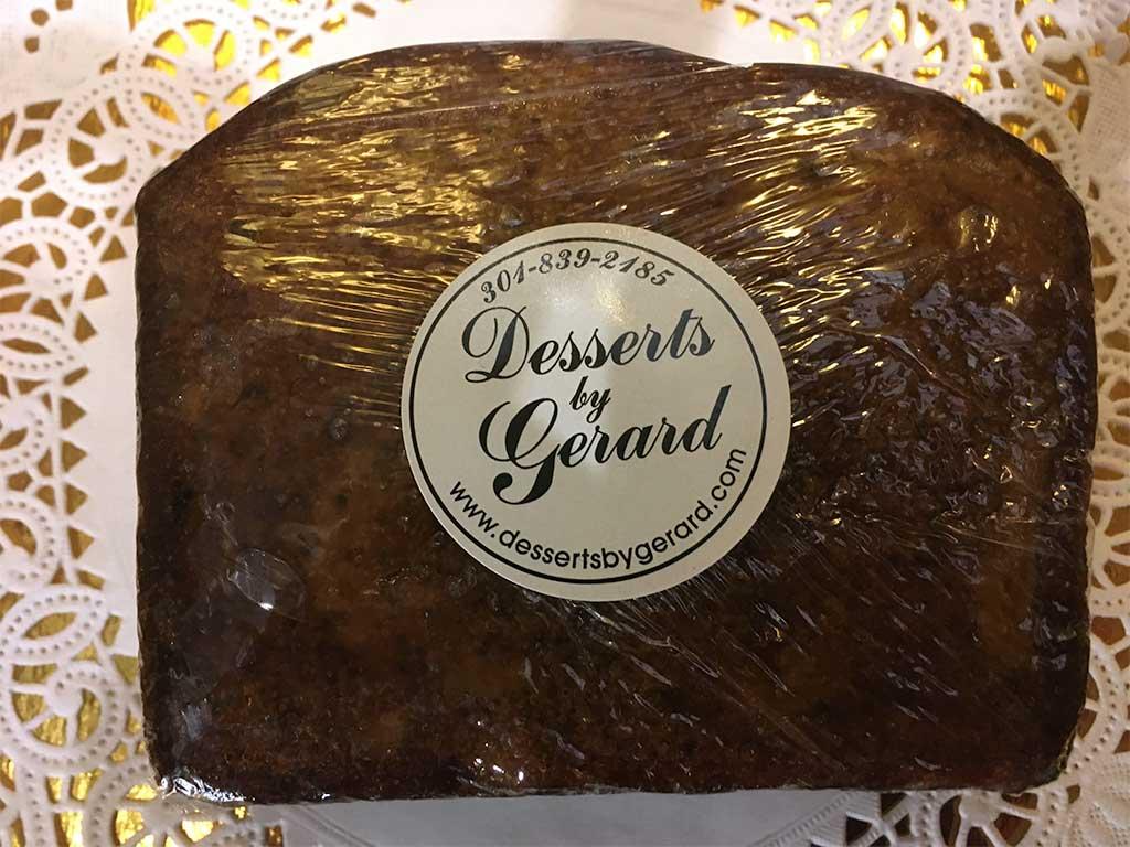 Ginger Cake Slice - dessertsbygerard.com
