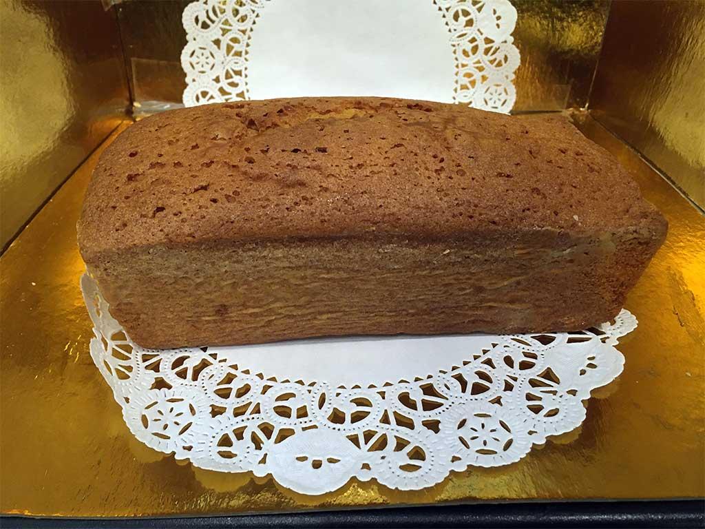 Large Plain Pound Cake Loaf - dessertsbygerard.com