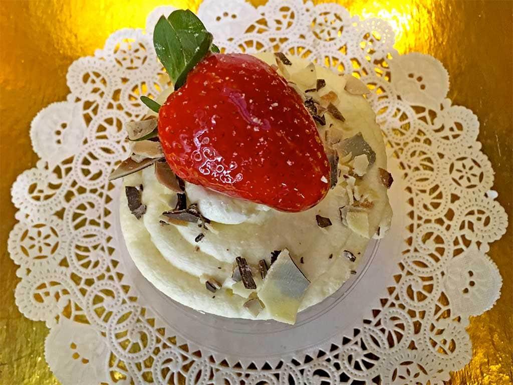 Marble Cake Cream Cheese Buttercream Cupcake - dessertsbygerard.com