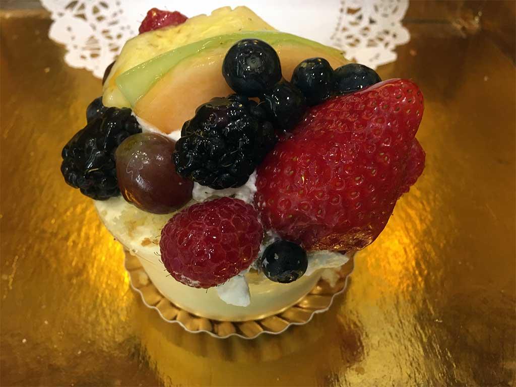 Passion Fruit Mousse Individual - dessertsbygerard.com